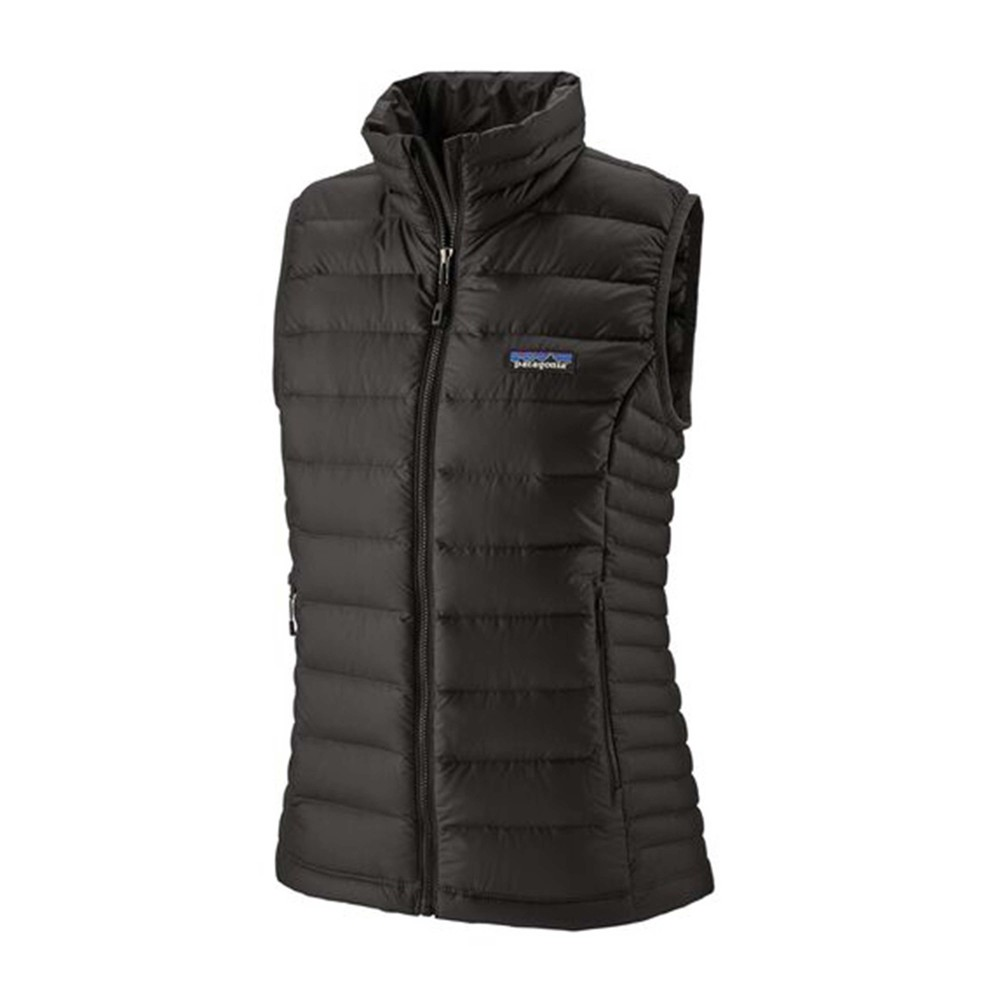Patagonia Down Sweater Vest Womens Black