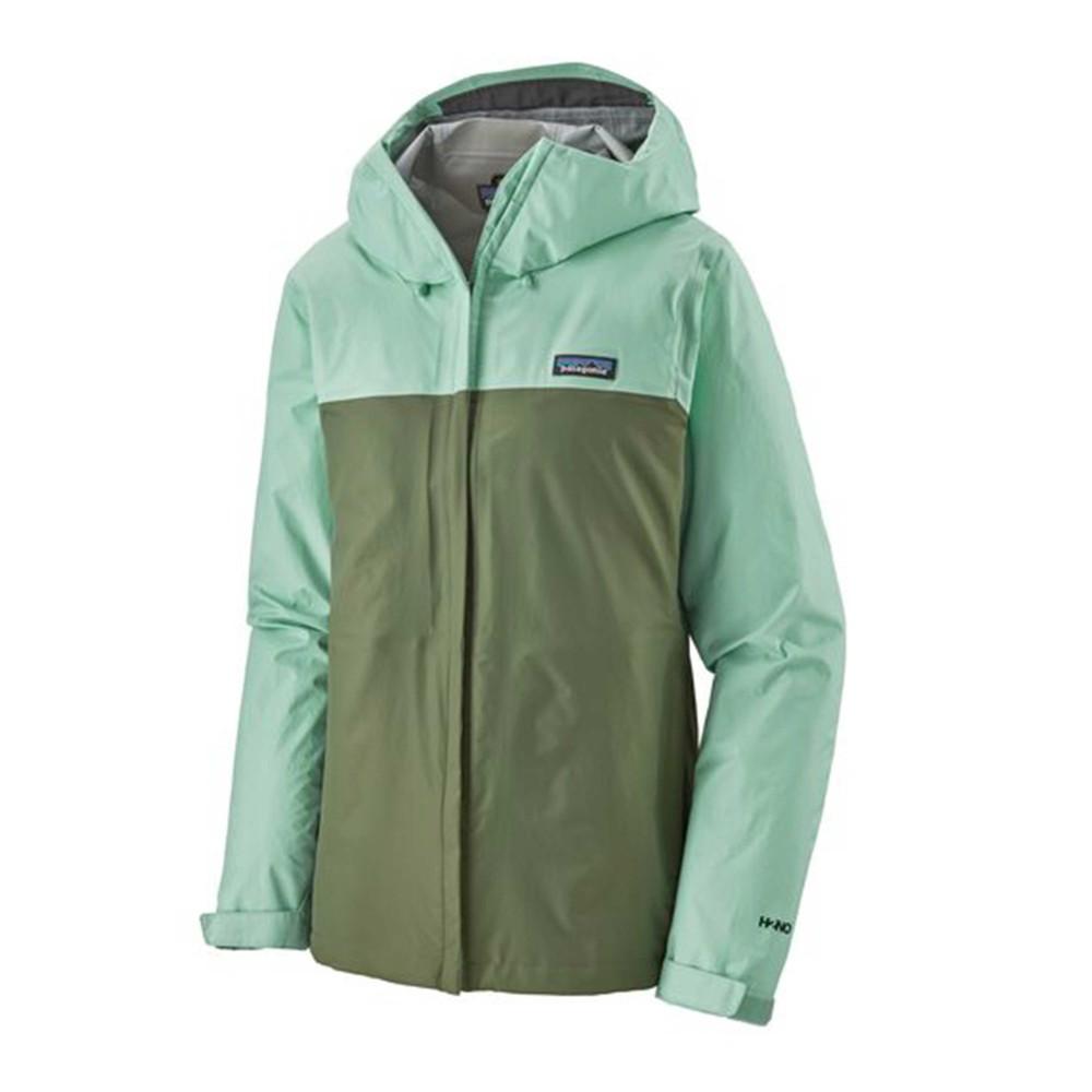 Patagonia Torrentshell 3L Jacket Womens Gypsum Green