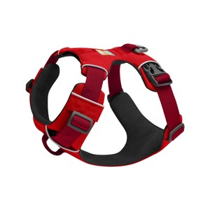 Ruffwear Front Range Harness 2020 in Red Sumac