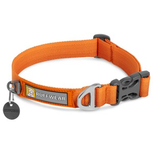 Ruffwear Front Range Collar in Campfire Orange