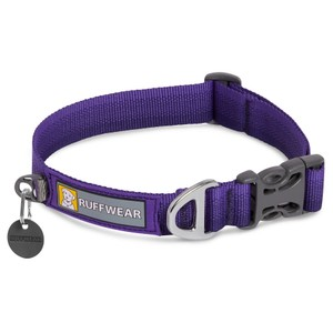 Ruffwear Front Range Collar in Huckleberry Blue