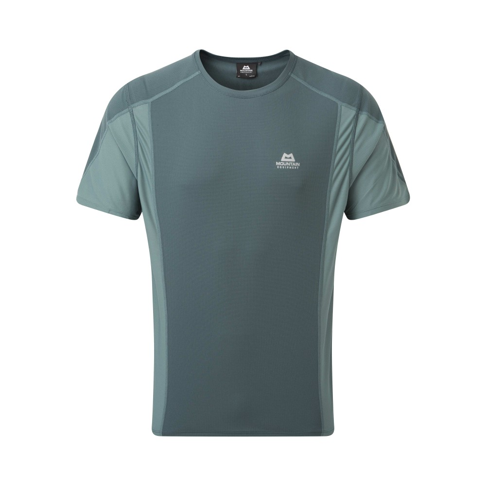 Mountain Equipment Ignis Tee Mens Moorland/Goblin Blue