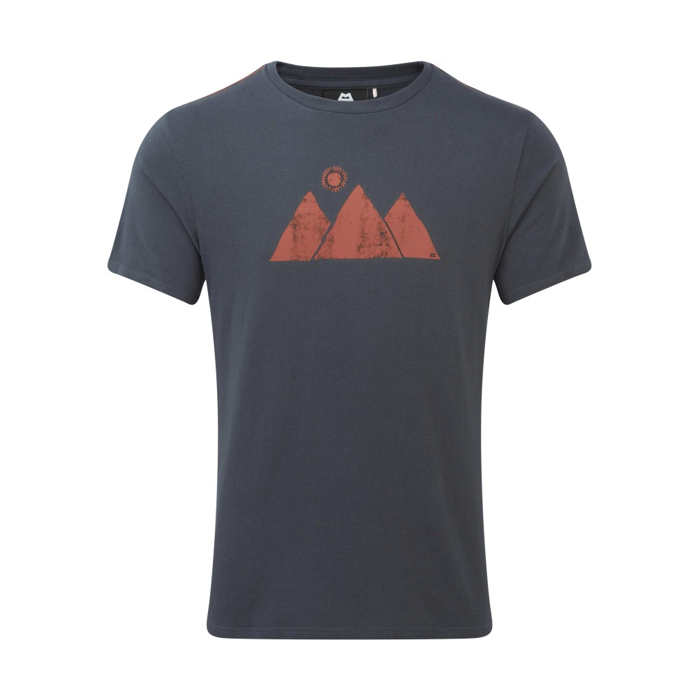 Mountain Equipment Mountain Sun Tee Mens Ombre Blue