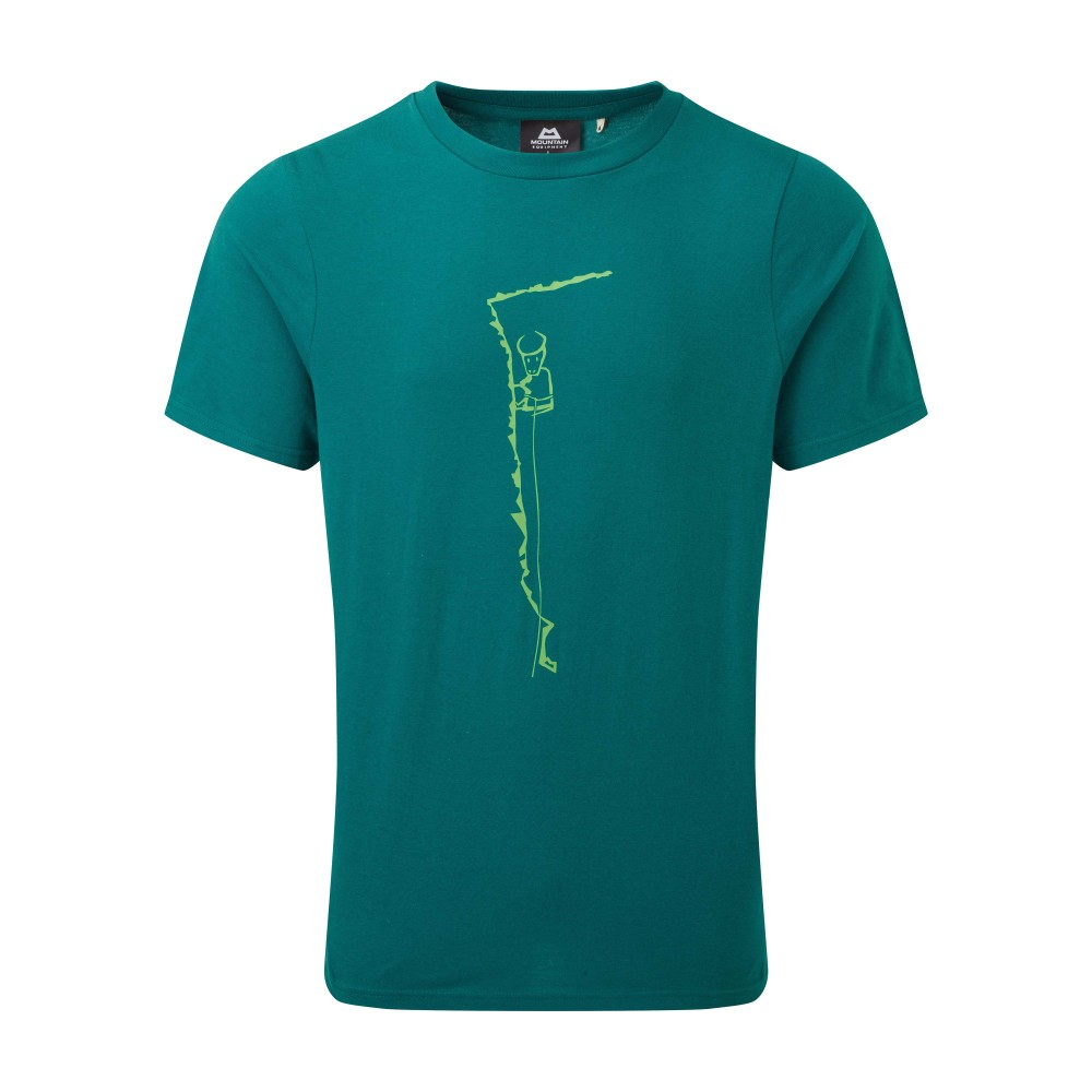 Mountain Equipment Yorik Tee Mens Spruce