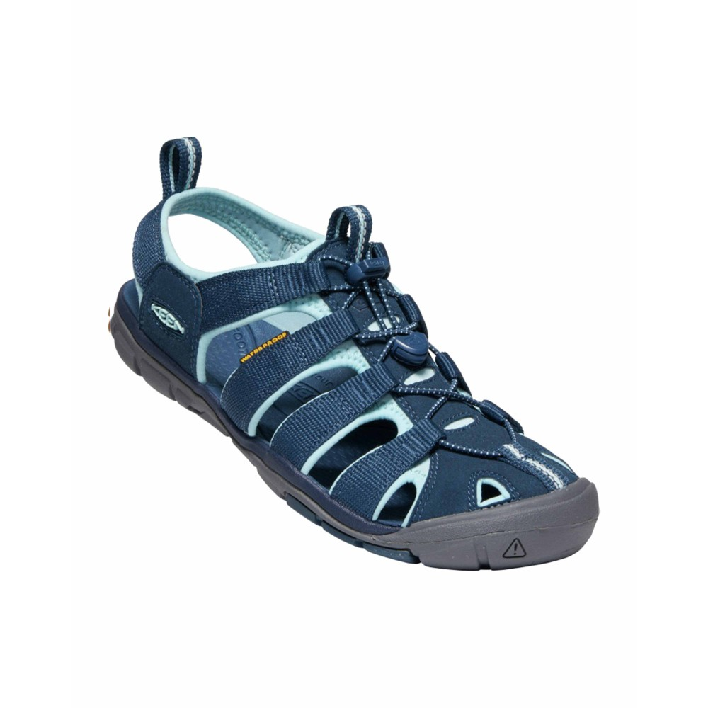 Keen Clearwater CNX Womens Navy/Blue Glow