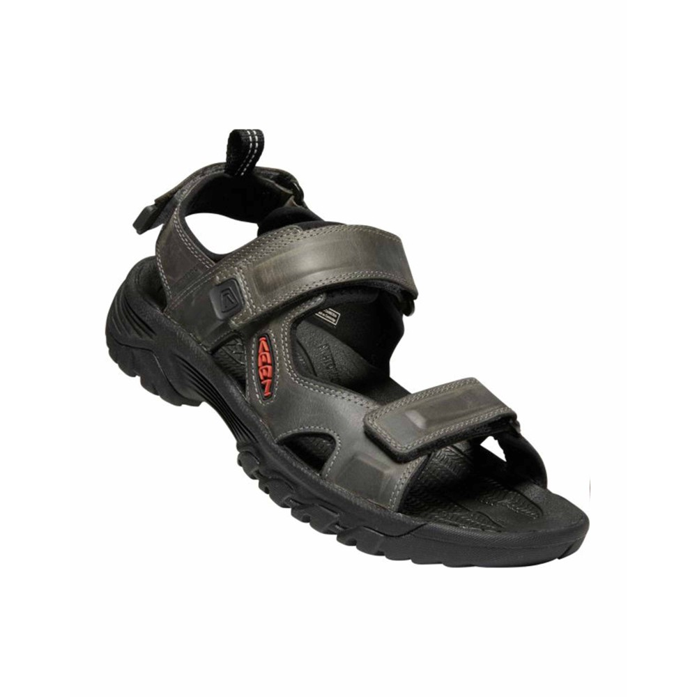 Keen Targhee III Open Toe Sandal Mens Grey/Black