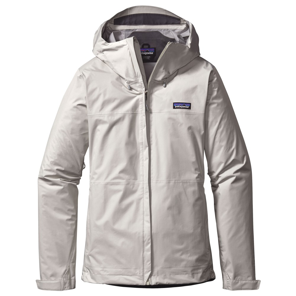 Patagonia Torrentshell Jacket Womens Birch White