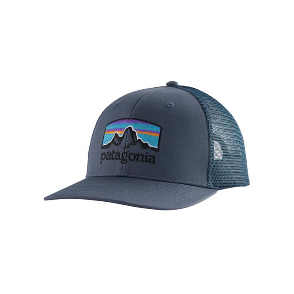 Patagonia Fitz Roy Horizons Trucker Hat Dolomite Blue