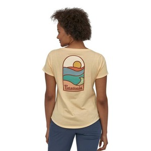 Patagonia Sunset Sets Organic Scoop T-Shirt Womens