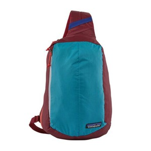 Patagonia Ultralight Black Hole Sling in Patchwork: Curacao Blue