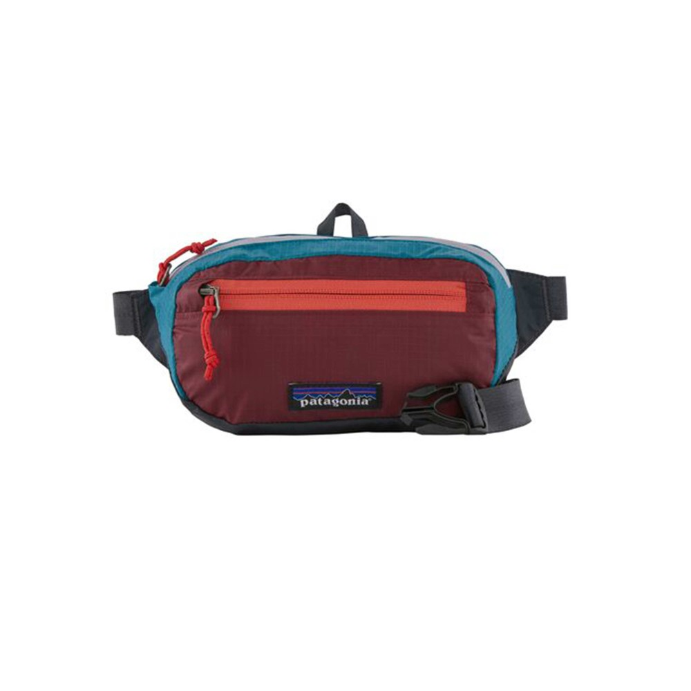 Patagonia UL Black Hole Mini Hip Pack Patchwork: Roamer Red