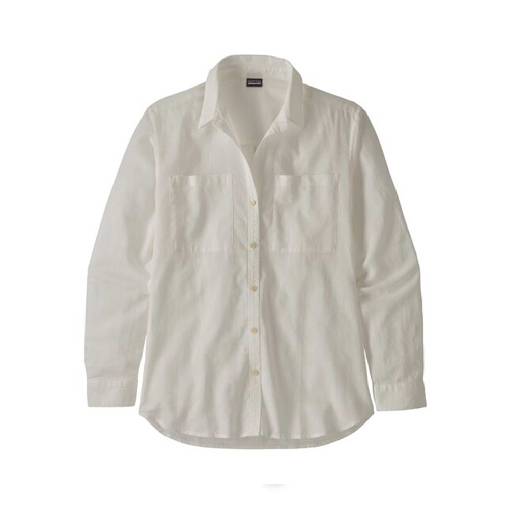 Patagonia LW A/C Buttondown Womens White