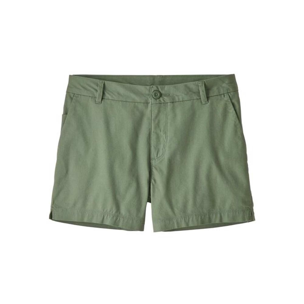 Patagonia Stretch All-Wear Shorts - 4 inch - Womens Ellwood Green