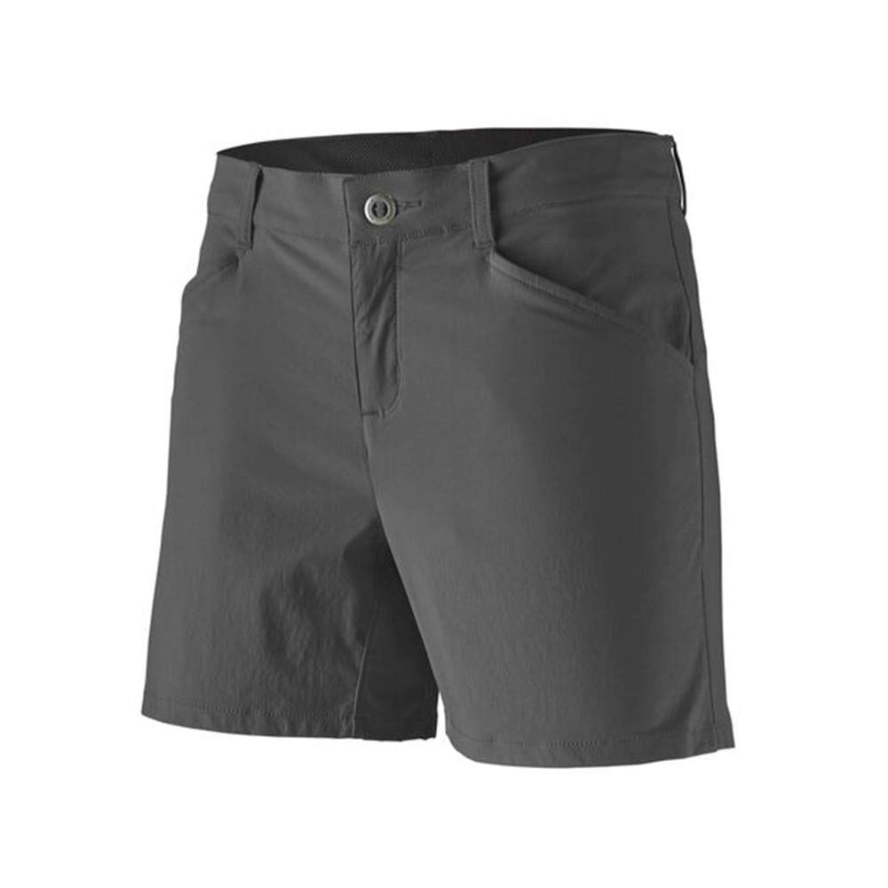 Patagonia Quandary Shorts - 5 inch - Womens Forge Grey