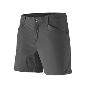 Quandary Shorts - 5 inch - Womens Forge Grey