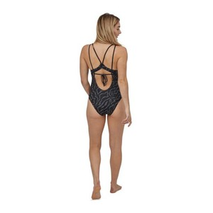 Patagonia Nanogrip Sunset Swell 1pc Swimsuit Womens