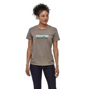 Patagonia Pastel P-6 Logo Organic Crew T-Shirt Womens