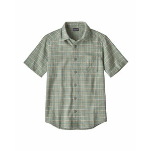 Patagonia Back Step Shirt Mens in Harvester: Ellwood Green