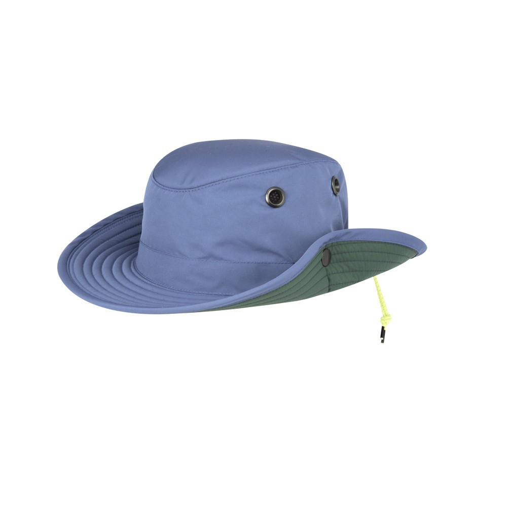 Tilley Endurables The Paddlers Hat Blue Rapids/Green