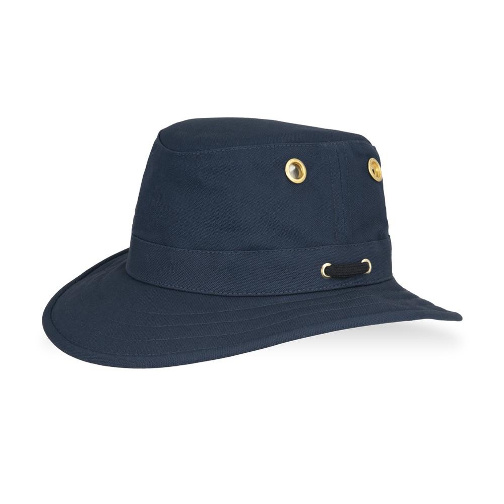 Tilley Endurables The Authentic T5 Cotton Duck Hat Navy