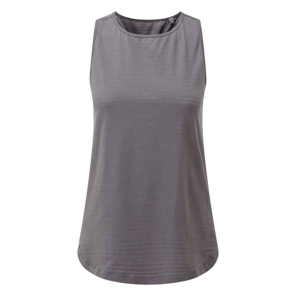 tentree Enso Tank Womens Boulder Grey