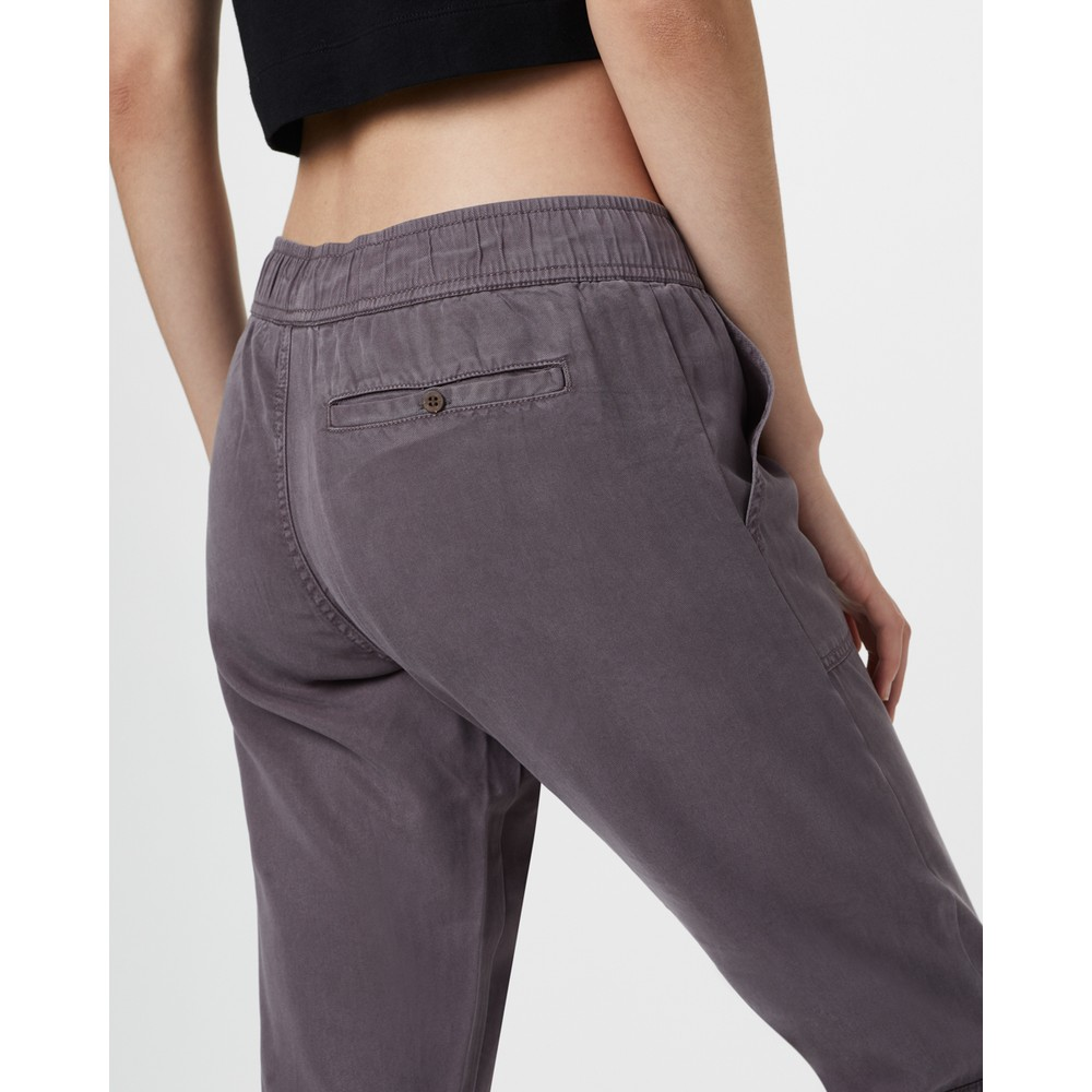 tentree Colwood Straight Pant Womens Boulder Grey