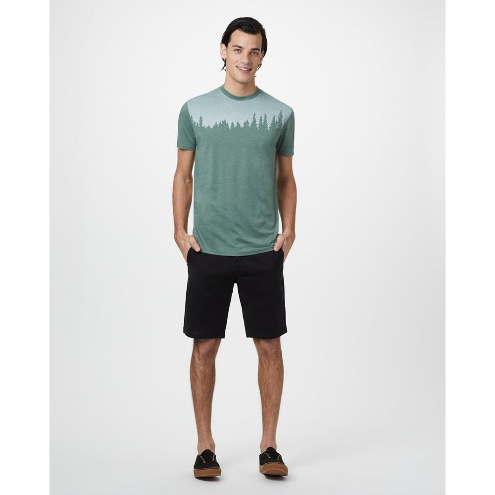 tentree Juniper Classic T-Shirt Mens Forest Green Heather