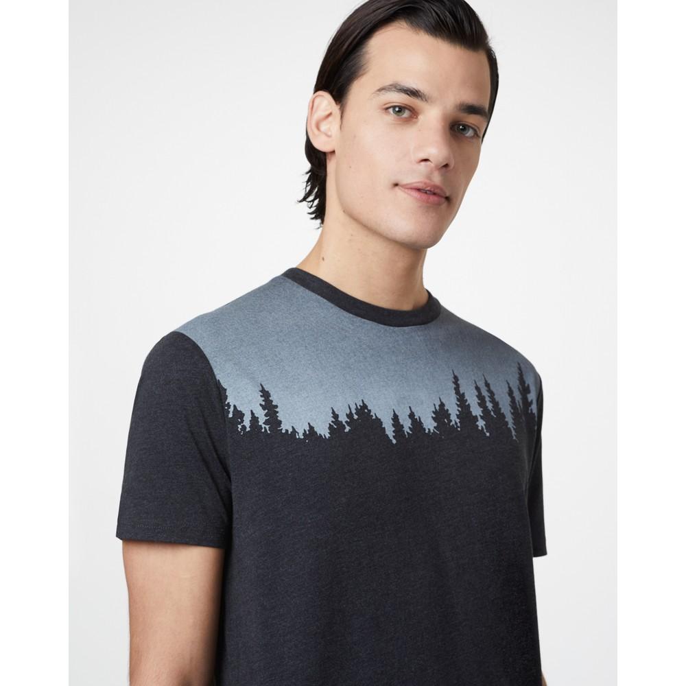 tentree Juniper Classic T-Shirt Mens Meteorite Black Heather