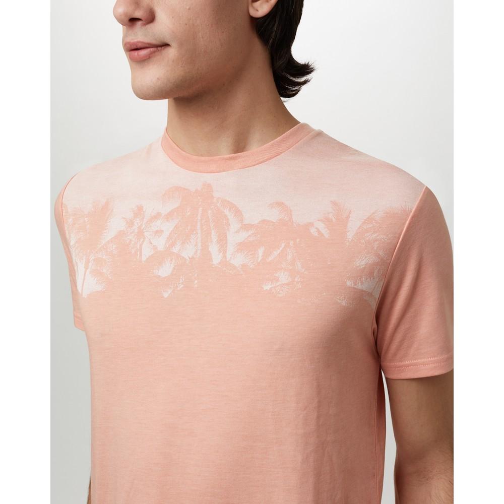 tentree Palm Classic T-Shirt Mens Chinook Orange Heather