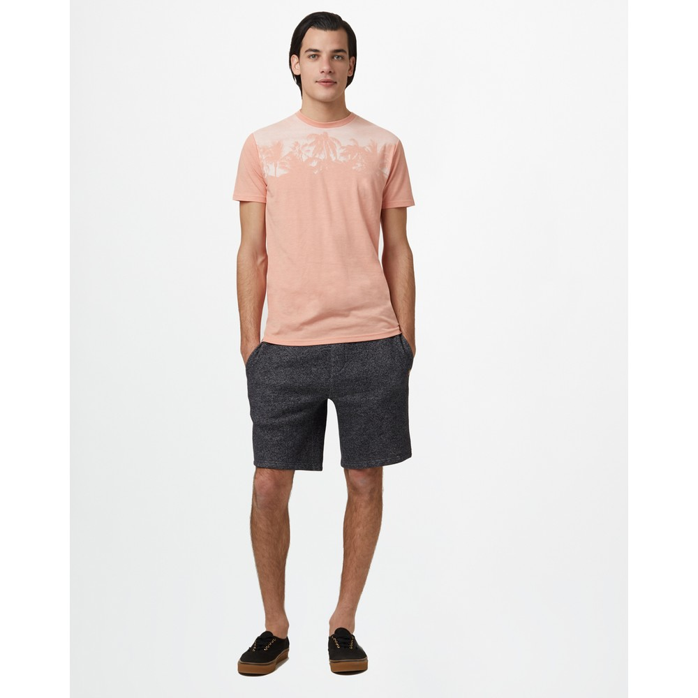 tentree Palm Classic T-Shirt Mens Chinook Orange Heather