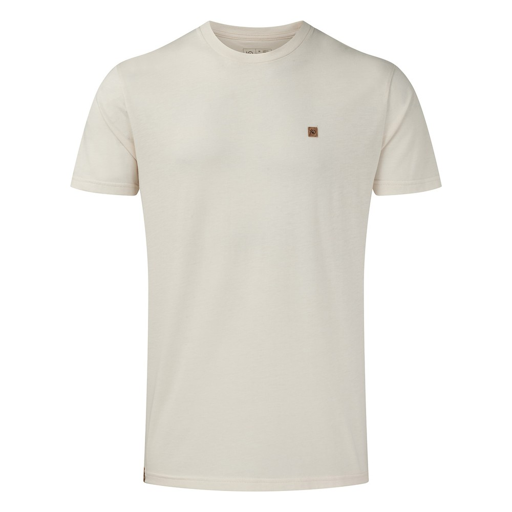 tentree Treeblend Classic T-Shirt Mens Elm White Heather