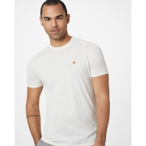 tentree TreeBlend Classic T-Shirt Mens in Elm White Heather