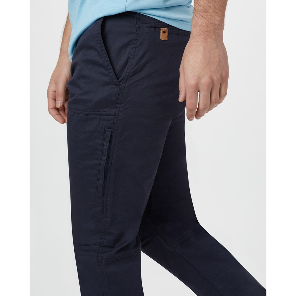 tentree Alder Pant Mens Dark Ocean Blue