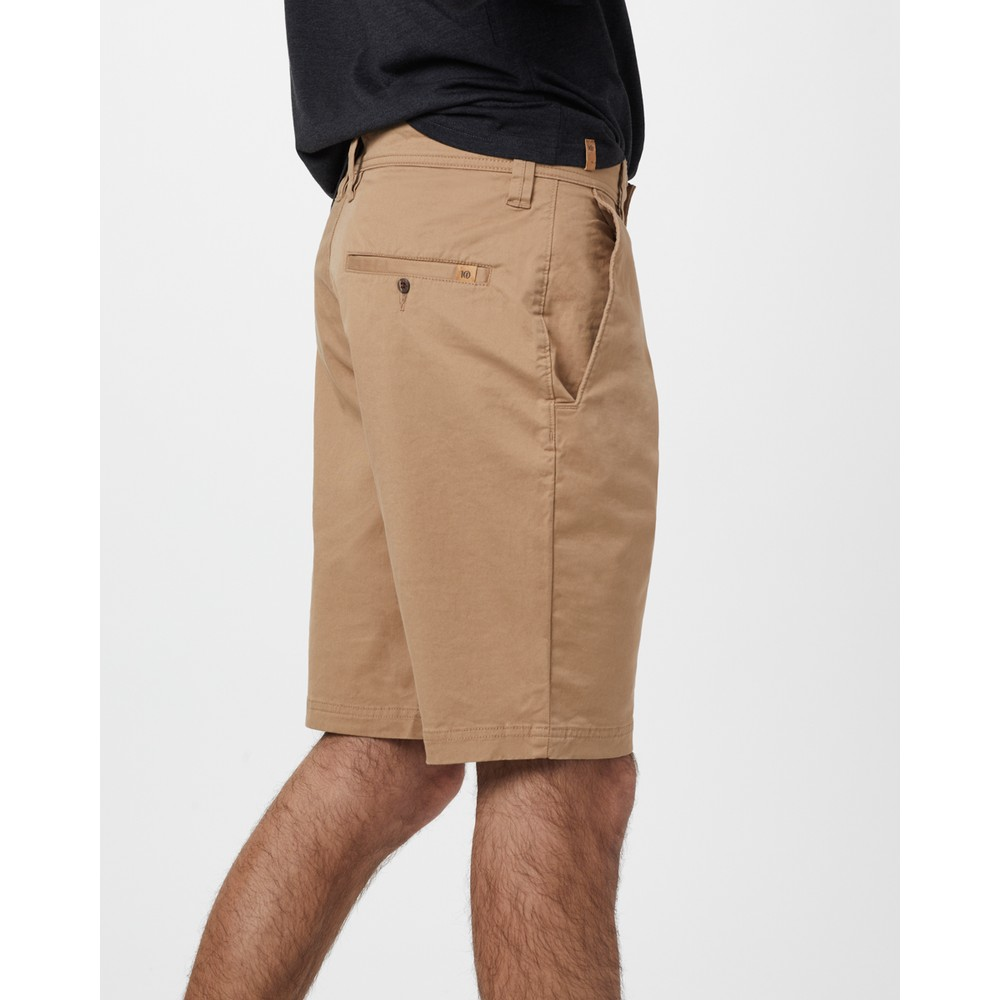 tentree Day Short Mens Sandstone Beige