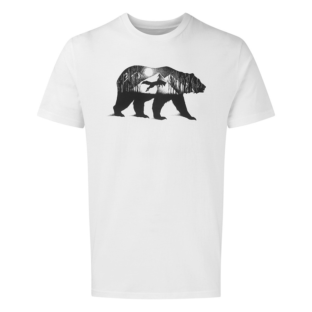 tentree Den Cotton Classic T-Shirt Mens Optic White