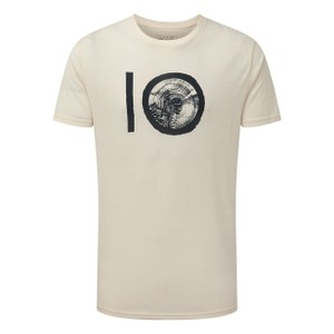 tentree ten Classic T-Shirt Mens in Elm White Heather