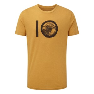 tentree ten Classic T-Shirt Mens in Sweet Birch Yellow Heather