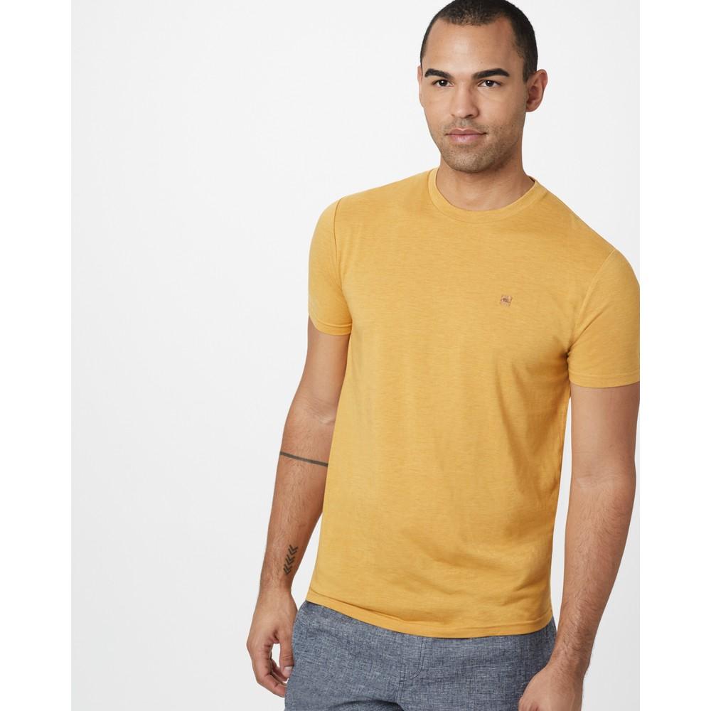 tentree Treeblend Classic T-Shirt Mens Sweet Birch Yellow Heather