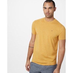tentree TreeBlend Classic T-Shirt Mens in Sweet Birch Yellow Heather