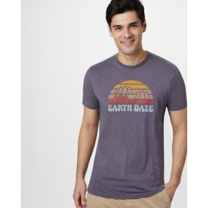 tentree Earth Daze Classic T-Shirt Mens in Boulder Grey Heather