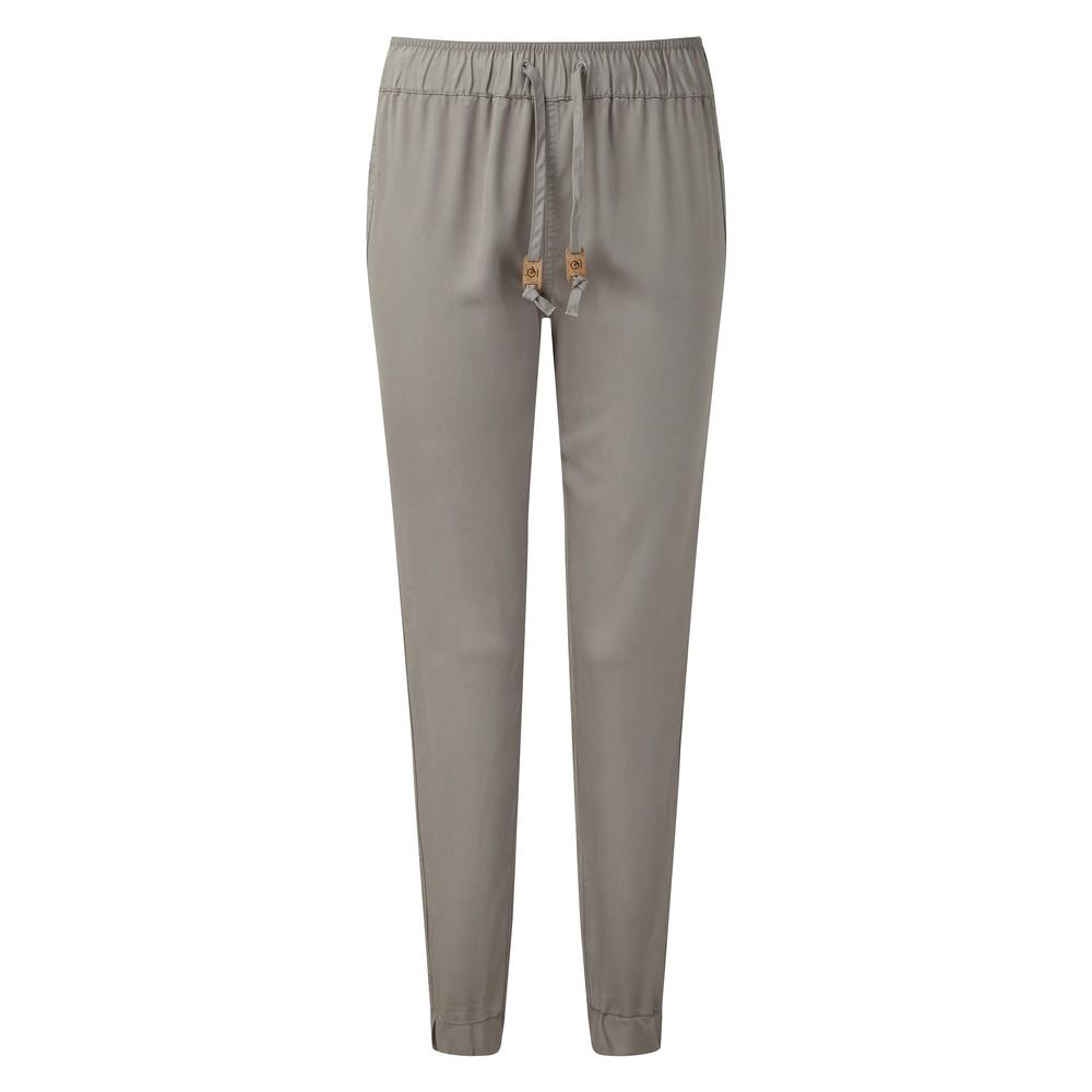tentree Colwood Pant Womens Hi Rise Grey