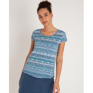 Sherpa Kira Tee Womens in Neelo Blue