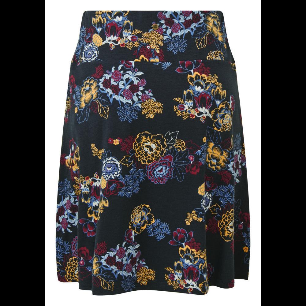 Sherpa Padma Pull-On Skirt Womens Black Print