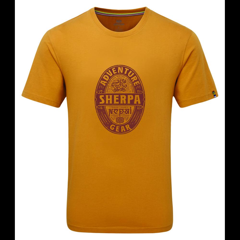 Sherpa Taktsang Tee Mens Daal Yellow