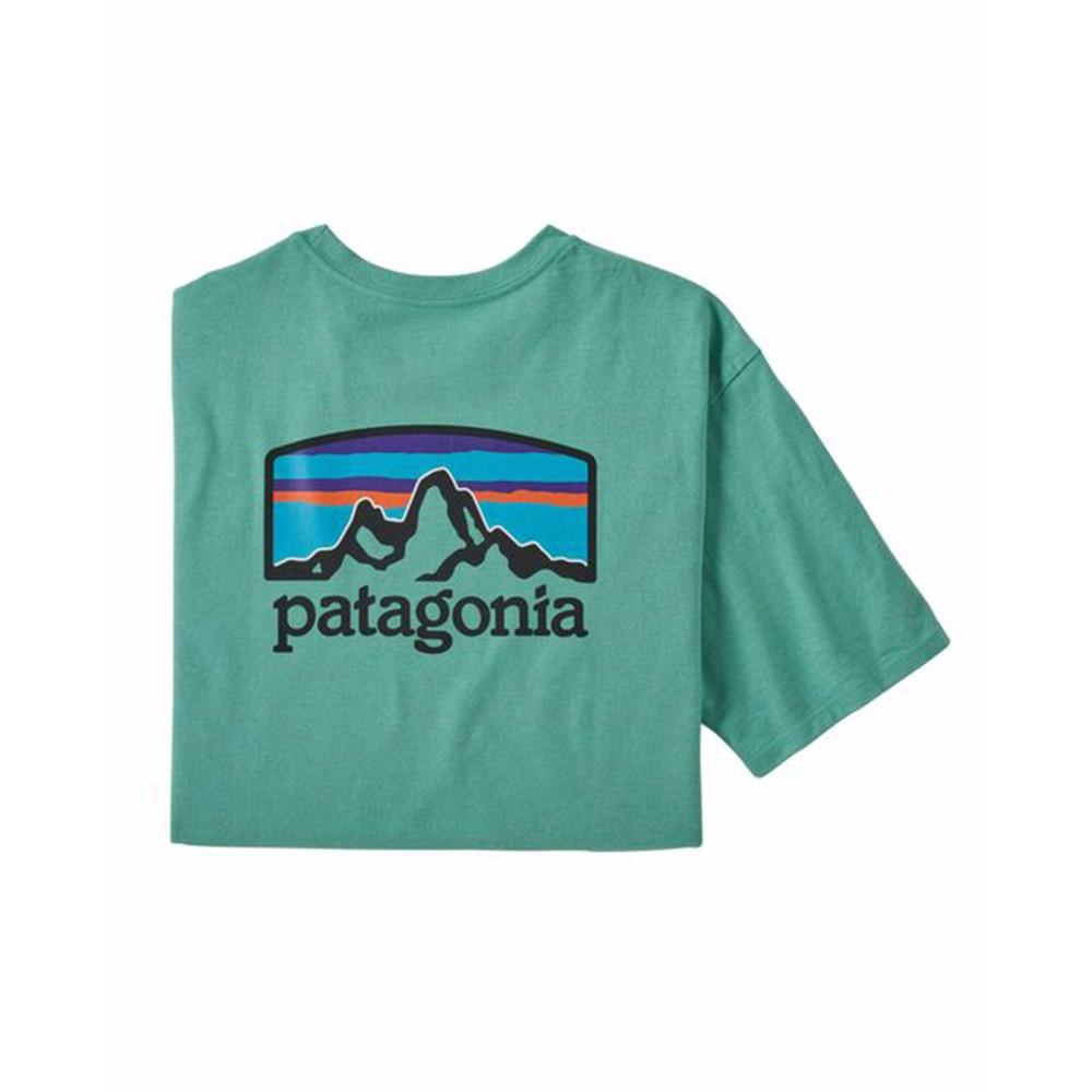 Patagonia Fitz Roy Horizons Responsibili-Tee Mens Light Beryl Green