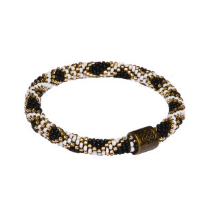 Mayalu Basket Roll On Bracelet Black