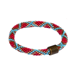 Mayalu Mughal Roll On Bracelet Rupa Blue