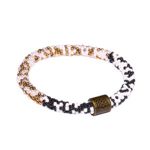 Mayalu Nadi Roll On Bracelet Black