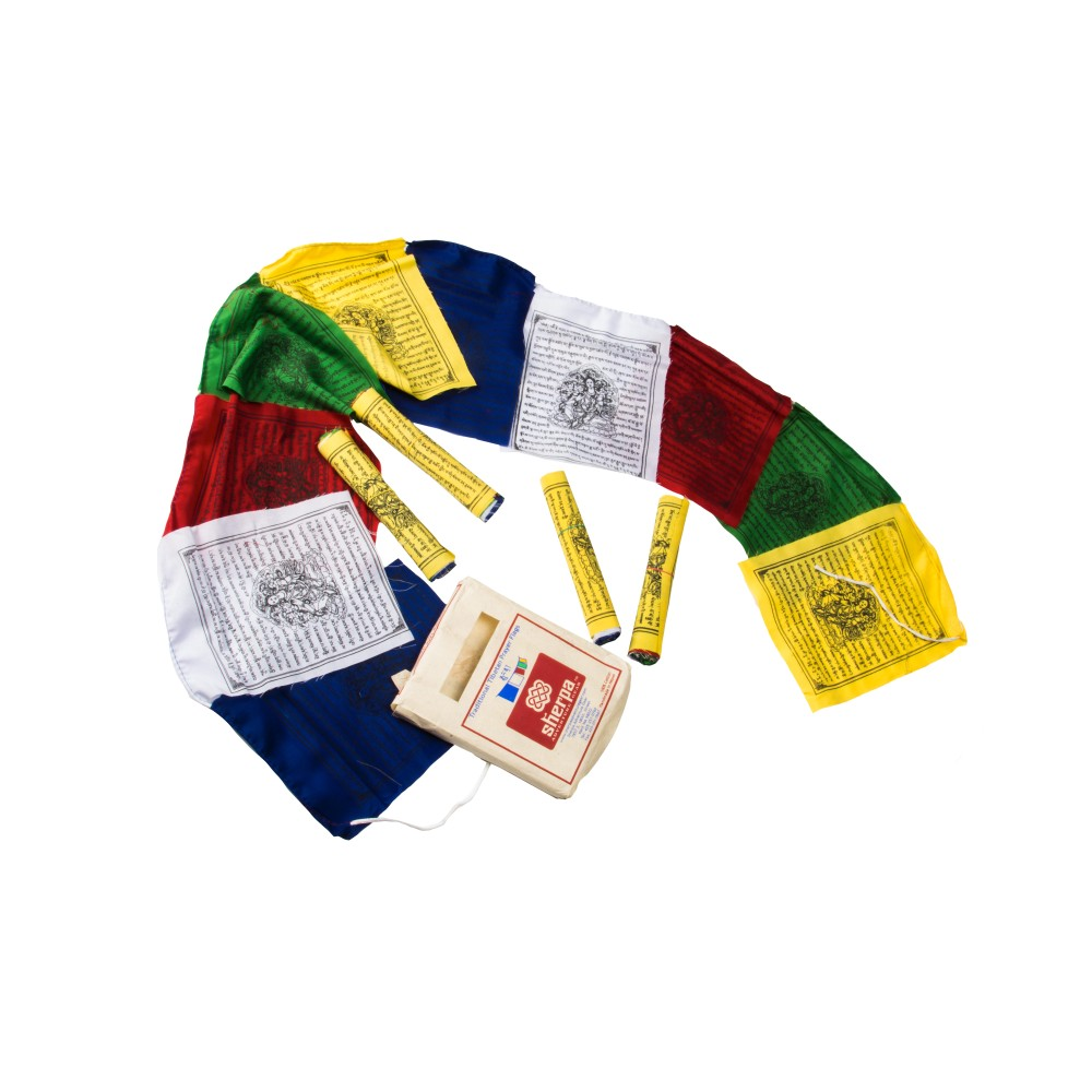 Sherpa Prayer Flags Multi