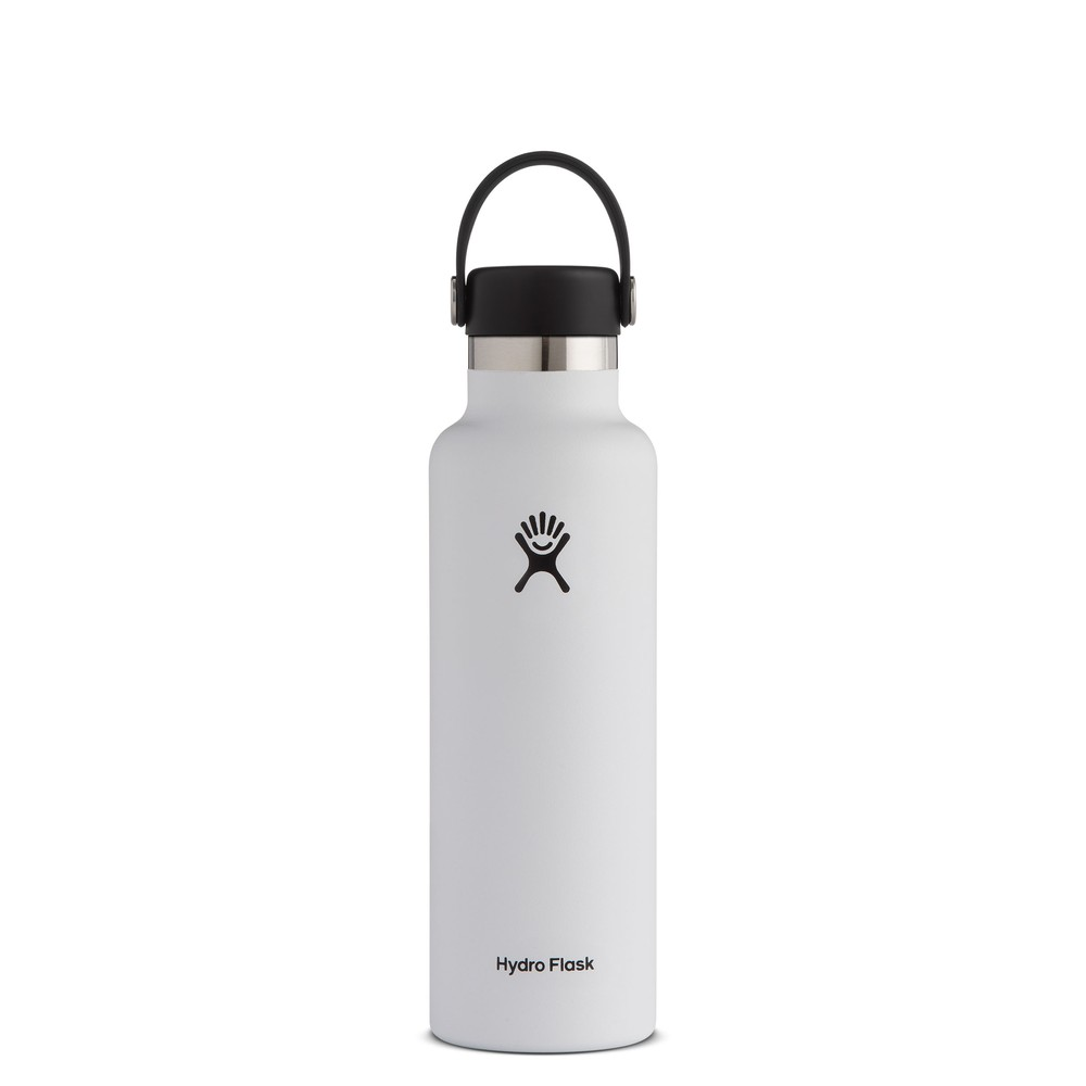 Hydro Flask 21oz Standard w/std Flex Cap White